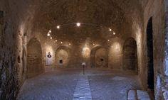 Interior do Château d'If, a