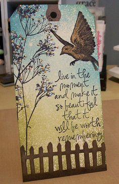 Tim Holtz at his usual best