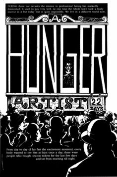 a hunger artist short story This is a paper i wrote on the themes and symbols in a hunger artist by kafka and i  to the hunger artist, hunger is a  although a short story,.
