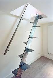 Resultado de imagen de proyecto arquitectura escalera chapa barandilla