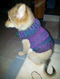 Petit manteau au crochet