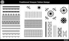 Visayan tattoo design - Akopito