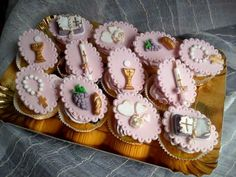 Cup cake s for comunion