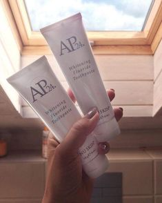 Best Whitening Toothpaste on the market 👌 Ap 24 Whitening Toothpaste, Smile Whitening, Whitening Fluoride Toothpaste, Nu Skin Ageloc, Healthy Skin Care, Tricks, Instagram, Selfies, Check