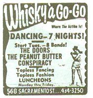 The whiskey a gogo in the 60s Saw Rod McKuen in the early seventies. | Calfiornia | Pinterest | Whisky Doors and Jim morrison  sc 1 st  Pinterest & The whiskey a gogo in the 60s Saw Rod McKuen in the early seventies ...