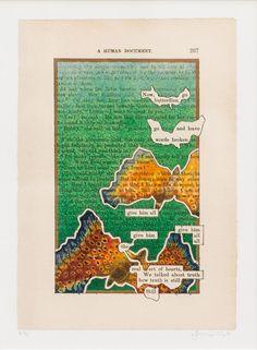 Tom Phillips RA | A HUMUMENT P267: | Summer Exhibition Explorer