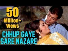 Chhup Gaye Sare Nazare - Rajesh Khanna & Mumtaz - Do Raaste - Bollywood . Good Night Song, Bf Video, Old Song Download, Old Bollywood Songs, Rajesh Khanna, Best Love Songs, Lata Mangeshkar, Song Hindi, Song Play