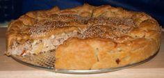 κοτοπιτα μουρλια! Pizza Recipes, Diet Recipes, Dessert Recipes, Cooking Recipes, Desserts, Recipies, Greek Pita, Eat Greek, Greek Pastries
