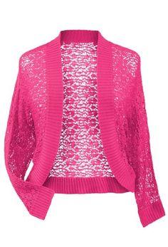 Avenue Plus Size Crochet Shrug