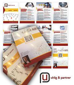 Unternehmensbroschüre / Prospekt / Printdesign – Uhlig & Partner