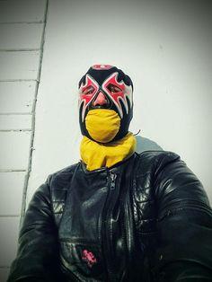 Masked Leather Man!