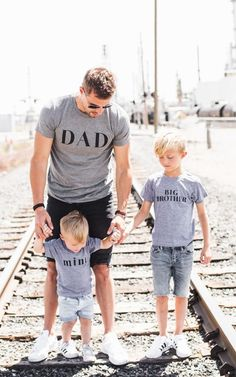 DAD Tee and other family graphics by: ILY COUTURE ilycouture.com #fathersday