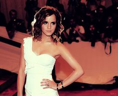 I have the biggest girl crush ever on Emma Watson. A girl crush on term of... I want to be her.