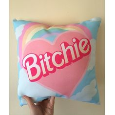 Bitchie Pillow available at shopjeen.com