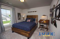Little Rock Craftsman C2 Floor Plan - Boy's Room - Centerra Ridge - Evansville, IN
