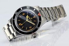 Vintage watch-collecting backdoor: Steinhart Ocean One Vintage Steinhart Watches mens luxury watch. Big Watches, Cool Watches, Tag Heuer, Vintage Rolex, Vintage Watches, Steinhart Ocean One, Steinhart Watch, Military Style Watches, Affordable Watches