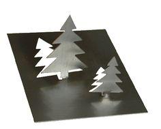 Schnäppchenpreis!!! Tannenbaum aus Edelstahl im Dreierpack