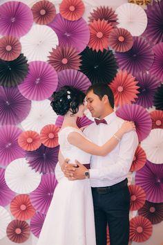 фотозона в цвет вашей свадьбы
