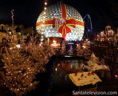 Photo: Europa-Park during Christmas time in Germany – Theme park in Germany Christmas In Germany, Christmas In Europe, Christmas Time, Christmas Bulbs, Merry Christmas, Europa Park Rust, Europe Photos, Travel Photos, Time In Germany