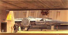 Ralph McQuarrie: el arte detrás de Star Warrs __ [-o-] __  Trabajó en muchas otras películas e incluso ganó 2 Oscar, peroel artedetrás de Star Wars es su mayorlegado al mundo del diseño conceptual.