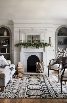 Modern Farmhouse Living Room Decor Ideas (29)