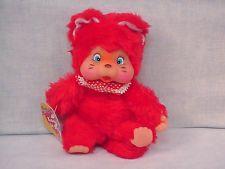Fun World Red Monchichi type with original tag lovin is fun $39.99