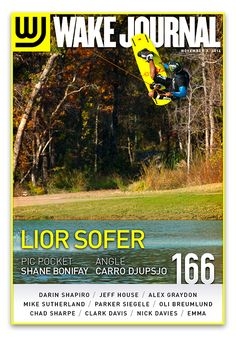 November 3rd, 2014 - Wake Journal 166 with Lior Sofer on the cover! Download the Wake Journal App, subscribe and get all 40 issues for just $1.99! http://www.wkjr.nl/app