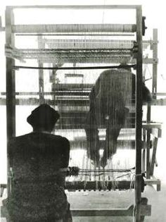 weaving students | Black Mountain College | Black Mountain, North Carolina, U.S.A. | c. 1933-1956