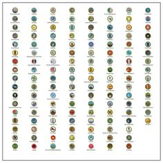 picture about Printable List of Merit Badges referred to as Boy Scout Advantage Badges