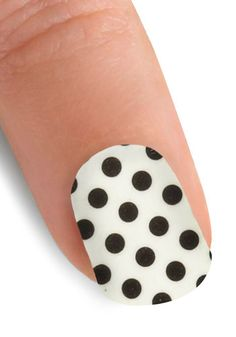 Point the Way Nail Stickers in Polka Dot, #ModCloth.  $11.99