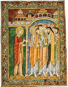 Romanesque Art Paintings Of The Medieval Era