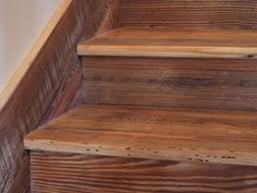 Wood Stair Treads, Risers And Stair Parts: Elmwood Reclaimed Timber Products