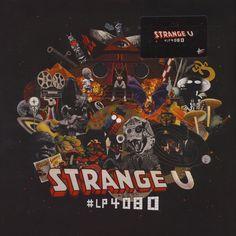 The artwork for the vinyl release of: Strange U - LP 4080 (High Focus) HipHop Underground Music, Music Albums, Old And New, Vinyl Records, Artist, Artwork, Movie Posters, Lp Album