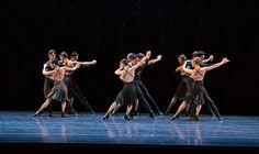 Boston Ballet in Hans van Manen's Black Cake © Rosalie O'Connor.