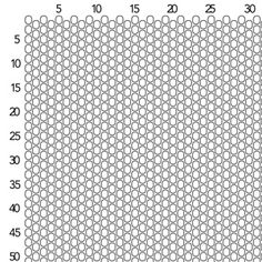 Peyote Stitch Graph Paper - Size 11 Seed Beads | Fusion Beads Inspiration Gallery