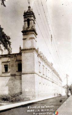 Fotos de Morelia, Michoacán, México: Escuela de Bellas Artes