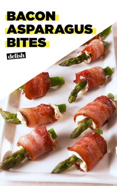 Bacon Lovers Need To Try These Bacon Asparagus Bites ASAPDelish