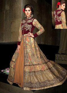 Imperial Multi Color Georgette party wear salwar kameez