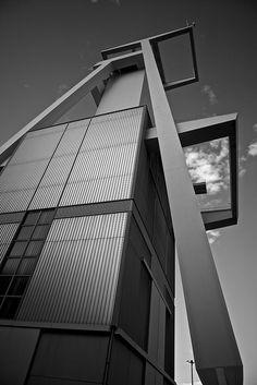 Shaft tower / Förderturm Göttelborn #3, Germany.