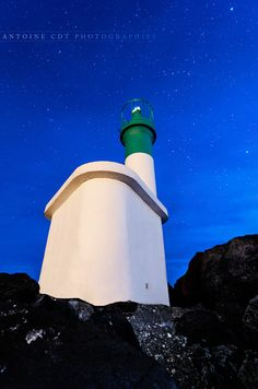 "500px / Photo ""Green lighthouse"" by Antoine CIBERT"