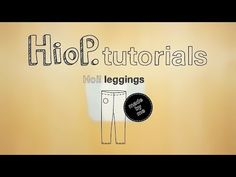 Kuinka ommella lasten leggingsit   Hoi! leggings videotutorial - YouTube #sewingforkids #easysewing #sewingtutorials #easypatterns