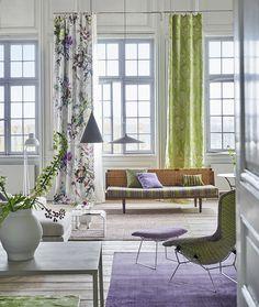 Designers Guild Aubriet floral fabric