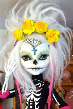 Day of the dead doll! Love