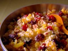 Fruit and nut couscous by Giada