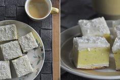 Geoff's mum's custard squares