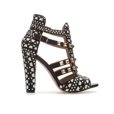 i'm so over studs, but these sandals are dope.  Zara.