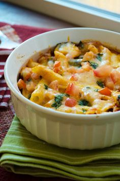 Shrimp Penne Bake