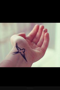 Little small #bird #tattoo