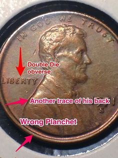 #error #errorcoins 1971 S Lincoln Double Die Obverse and more error coin Us Coins, Silver Coins, Lincoln, Penny Values, Old Coins Value, Rare Pennies, Old Coins Worth Money, Coin Dealers, Valuable Coins