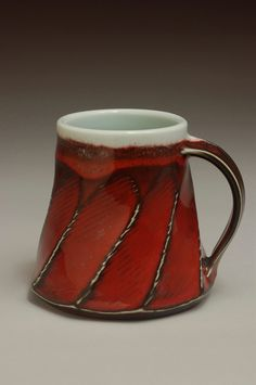 Slab Pottery, Pottery Mugs, Ceramic Pottery, Ceramic Cups, Ceramic Art, Traditional Mugs, Beer Mugs, Coffee Mugs, Clay Cup